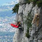 Nuit en paroi de montagne en Savoie, www.mikia.org